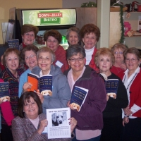 A Newcomer's Book Club in Georgetown, Texas meets at Down the Alley Bistro.