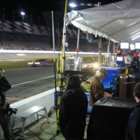Life in the hot pits at Daytona
