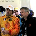 Garth and Patrick Dempsey at Daytona