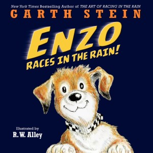 Enzo Races in the Rain by Garth Stein