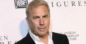 Kevin Costner does the voice of Enzo