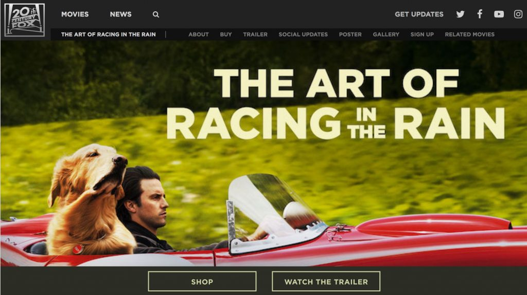 The Art of Racing in the Rain Digital