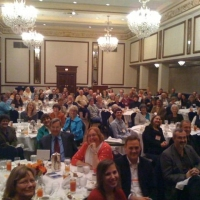 The GLBA dinner crowd